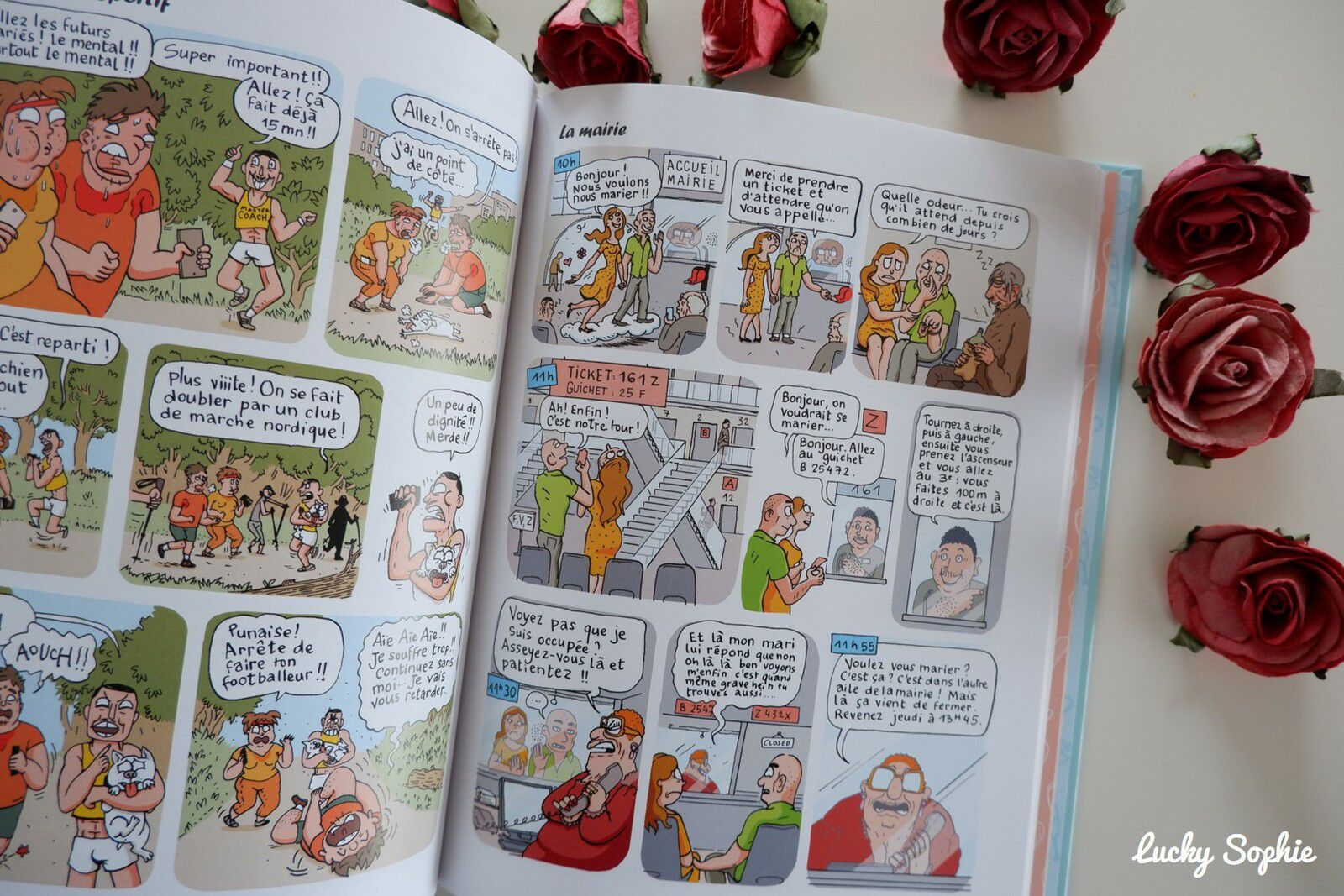 La mariée en colère, la BD hilarante !
