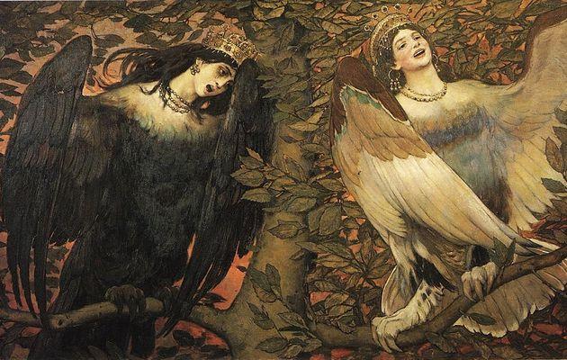 Les Stryges - mi-femmes mi-oiseaux