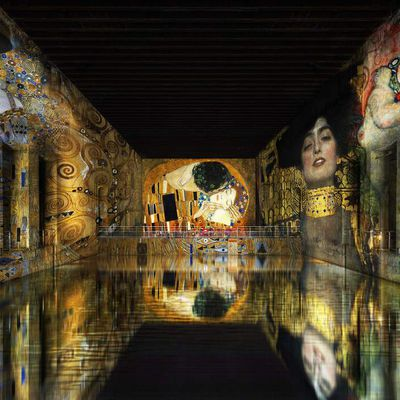 A GRANDIOSE EXHIBITION DEDICATED TO THE WORK OF GUSTAV KLIMT, IN BORDEAUX, FRANCE