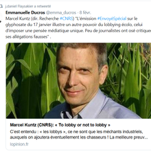 M. Marcel Kuntz dans l'Opinion : « To lobby or not to lobby »