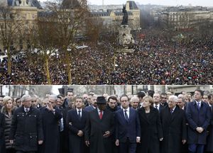 BBC - Charlie Hebdo attacks: Vast Paris rally for France unity