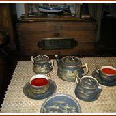 255 - Le thé, routes maritimes du thé, clippers, musée du thé de Bois Chéri, photos GeoMar, île Maurice, océan indien. - SKREO-Dz