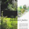 "Article "" Jardiniers Poètes"""