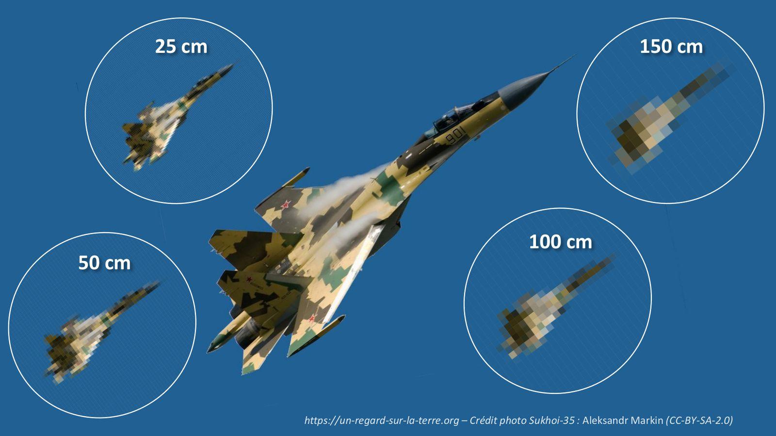 Pléiades Neo - 30 cm - GSD - resolution - résolution - Ground Sample Distance - IMINT - GEOINT - NIIRS - Intelligence - Renseignement - Satellite espion