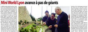 """Article dans le journal """"Vaulx en Velin Journal"""" du 3 Décembre 2014"""