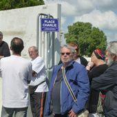 Les citoyens ont inauguré leur place Charlie à Vierzon - Vierzonitude