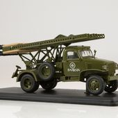 "SSM1374 Chevrolet-G7107 with rocket launcher BM-13 ""Katjusha"""