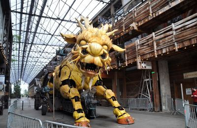 Le dragon des machines de l'île de Nantes
