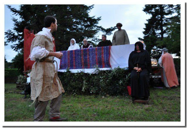 Valcanville, visite théatralisée de la commanderie
