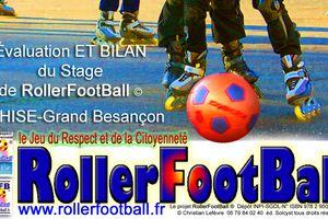 BILAN DE STAGE ROLLERFOOTBALL© été 2014