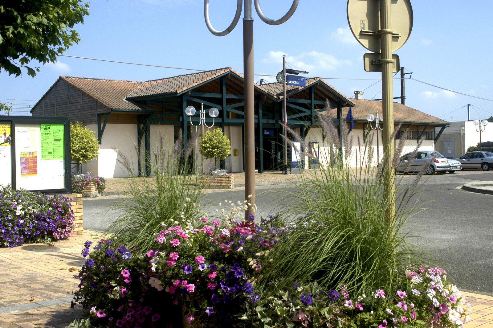 gare de Morcenx sejour artistique domaine de Preuilh