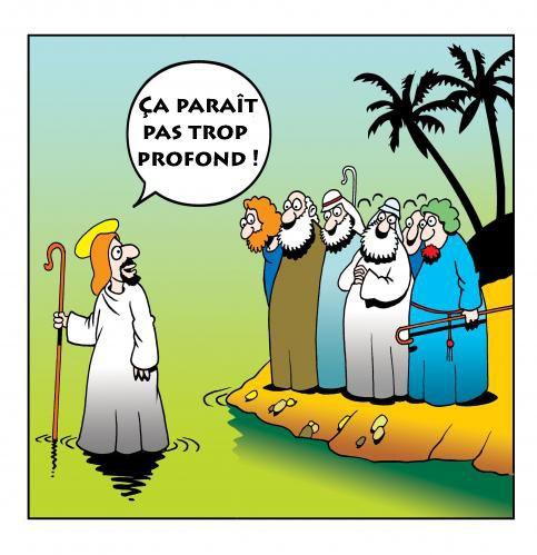 La religion et un peu d'étonnement