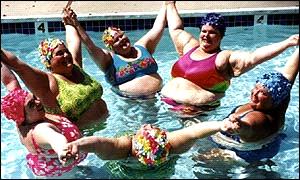 Giochi d'acqua per le signore Massa