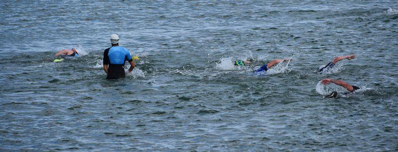 Saint Vaast la Hougue : Swim and Run