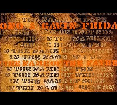 Bono/Gavin Friday - In the Name of the Father (LYRICS ON SCREEN)
