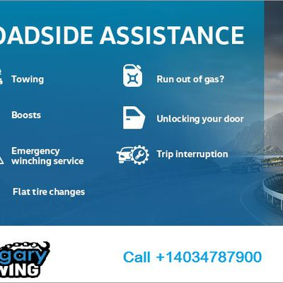 Roadside Assistance by The Calgary Towing