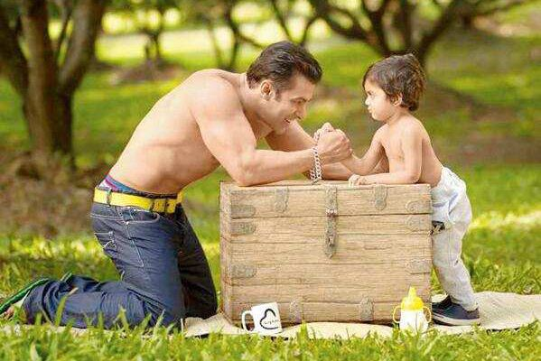 How to play baby with Salman Khan
