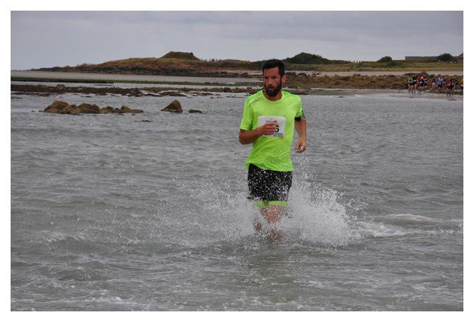 Saint Vaast la Hougue, course du Run 2018 :Deuxième passage du Run (3/(4)