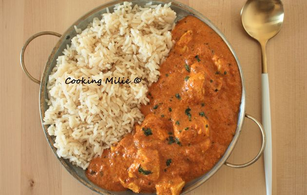 Butter chicken (Inde)