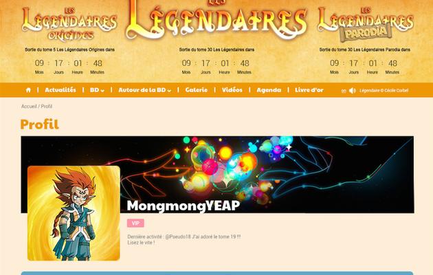 Le nouveau site des Légendaires ouvrira demain !