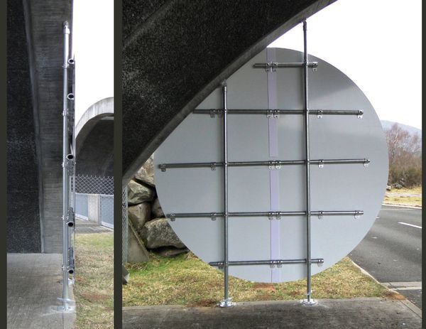 dos de la structure portante