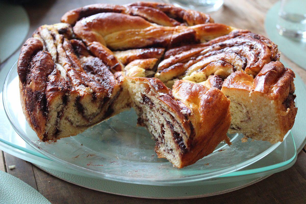 Babka au chocolat ou krantz cake
