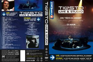 Tiësto DVD Live & studio | in Concert 2004 + CD Album Just Be | 2004
