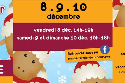 Metz 20ème Marché fermier de producteurs les 8, 9 et 10 décembre