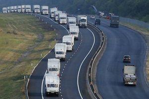 LeFigaro - Ukraine : le convoi russe force le passage à la frontière