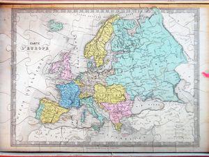 la France et l'Europe, atlas Wx