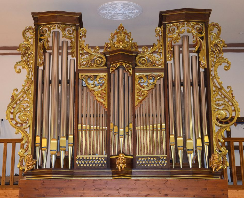 Un nouvel orgue à MOUTERHOUSE