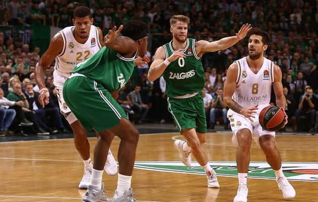 EuroLeague : le Zalgiris Kaunas fait chuter le Real Madrid