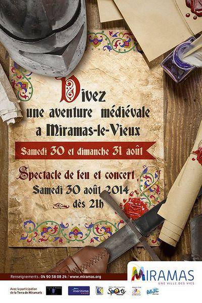 Animations Médiévales, Fête médiévale de Miramas-le-Vieux (13)