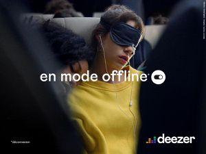 Le plus beau print de la semaine : Deezer amplifie le quotidien