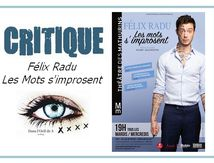 👁️ Critique Humour - Félix Radu dans Les mots s'improsent. (MAJ)