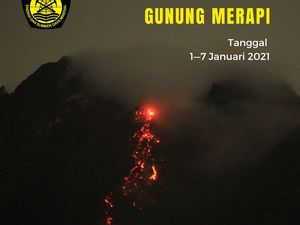 Merapi - activity of the week 01-07.01.2021 - Doc PVMBG - BPPTKG - one click to enlarge