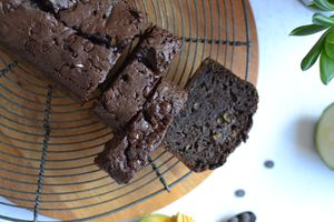 Cake courgette chocolat