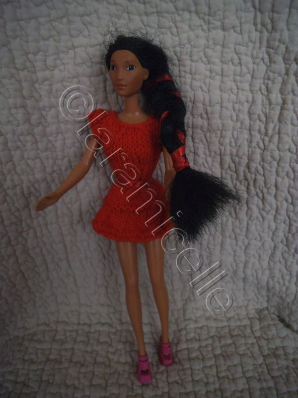 tuto gratuit barbie: robe tournante flamboyante