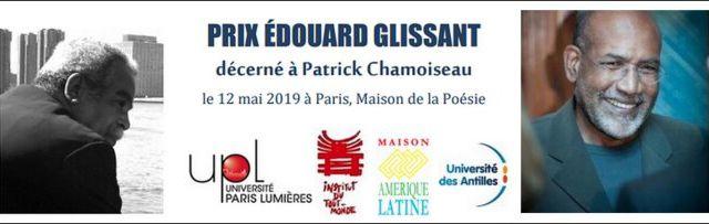 Prix Édouard Glissant décerné à Patrick Chamoiseau pour l'ensemble de son œuvre