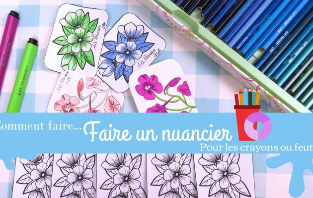Comment faire un nuancier ?