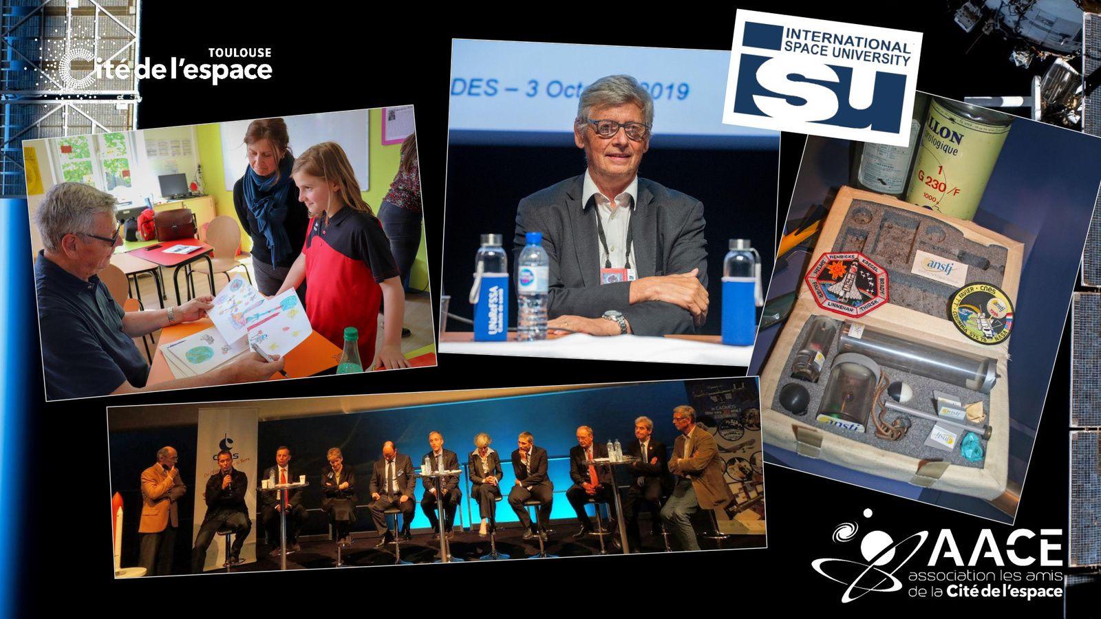 Jean-Jacques Favier - STS-78 - activités d'enseignement et sensibilisation - STEM - CSTI - ANSTJ - mallette expériences - ISU - Cité de l'espace - AACE - rencontres MEDES