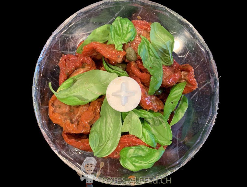 Tartare de Tomates Séchées