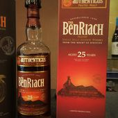 The BenRiach 25Y Authenticus. - Passion du Whisky