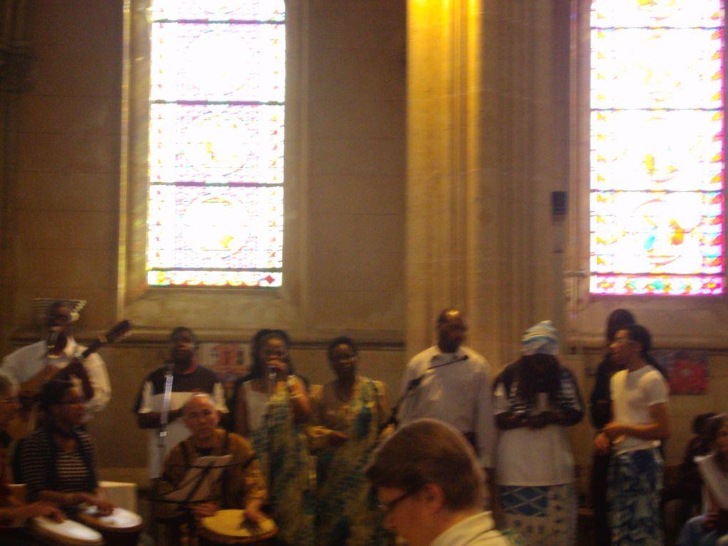 Un évènement dont on se souviendra : le gospel à Maromme avec les enfants de Canteleu, de Déville et de Maromme , des musiciens qui ont répété pendant des mois ! C'était super !