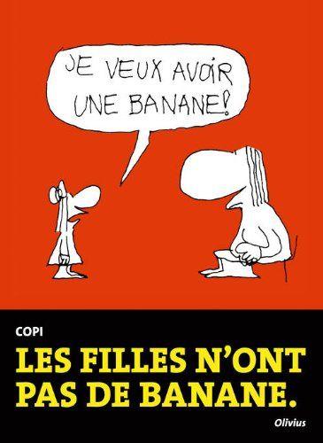 Copi : les filles n'ont pas de banane