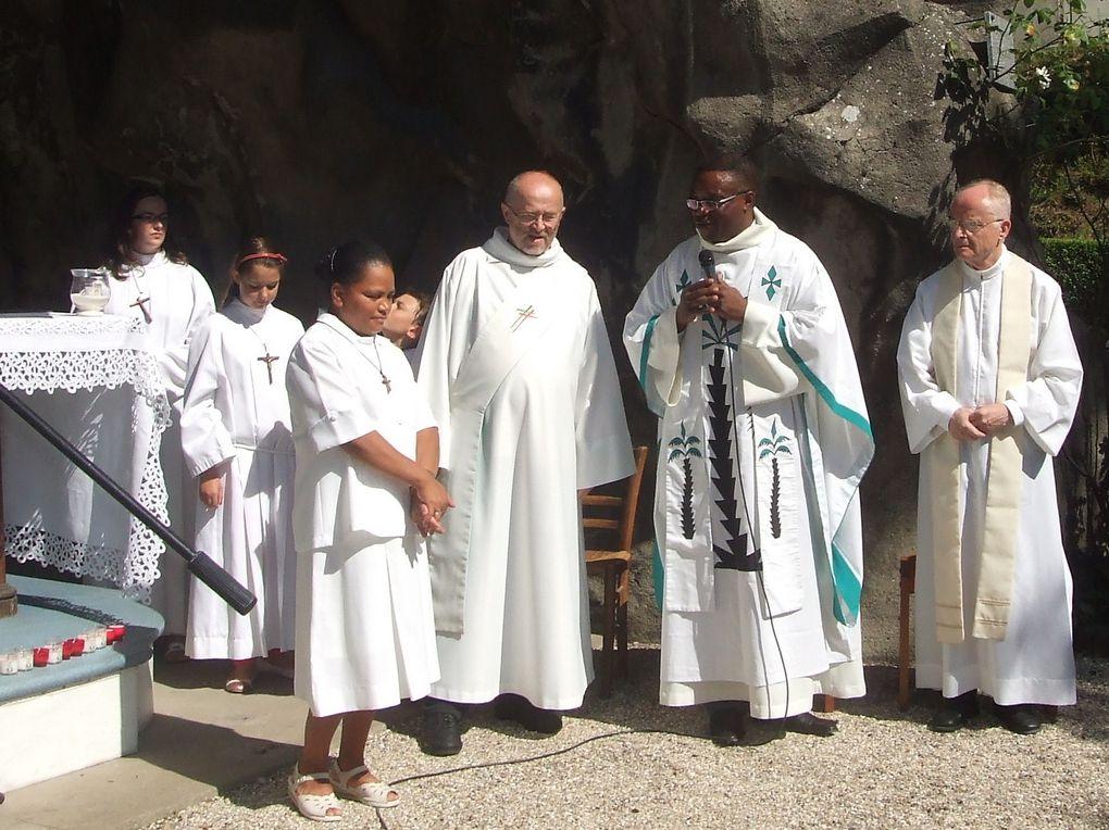 Fête de l'Assomption le 15 août 2013 à N.D. de Lourdes