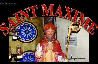 VIE et OEUVRE de SAINT MAXIME - Evèque de RIEZ -  Saint majeur de PROVENCE
