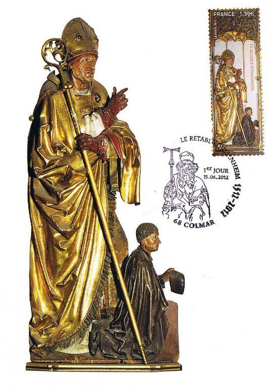 Balade philatélique à COLMAR (Haut-Rhin)
