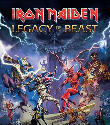Jeux video: Iron Maiden Legacy of the Beast sur iPhone, iPodT, iPad, Mobiles !