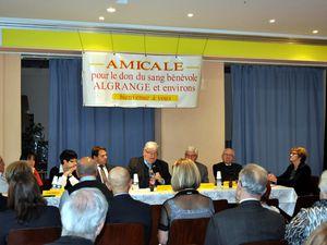 Assemblée Générale des donneurs de sang d'Algrange en 2015